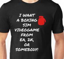 Boxing Sim Videogame Unisex T-Shirt