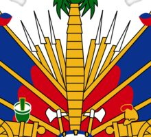 National coat of arms of Haiti Sticker