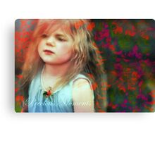 Precious Moments Of Innocence Canvas Print