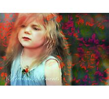 Precious Moments Of Innocence Photographic Print