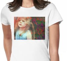 Precious Moments Of Innocence Womens Fitted T-Shirt