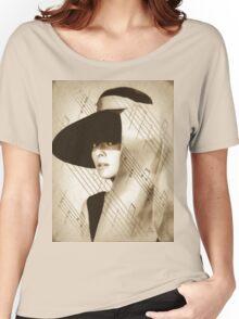 Audrey Hepburn Vintage Women's Relaxed Fit T-Shirt
