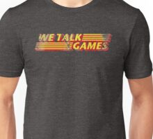 We Talk Games VPM Distressed Unisex T-Shirt