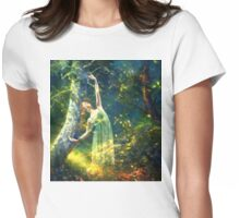 Bohemian Dancer Fantasy Womens Fitted T-Shirt