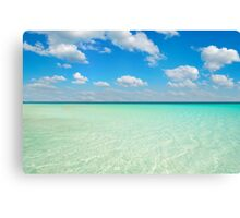 Postcard from the Maldives Canvas Print