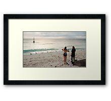 Cottesloe Beach 4 Framed Print