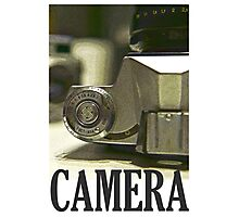 Vintage SLR Film Camera Photographic Print