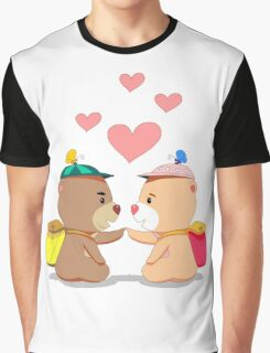 Bear touch Graphic T-Shirt