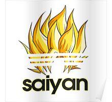 SUPER SAIYAN Poster