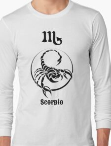 sign  of  Scorpio Long Sleeve T-Shirt