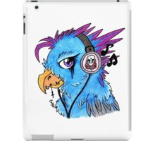 Sketchy punk rock chick iPad Case/Skin