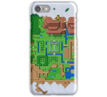 Hyrule Map Light Legend of Zelda ALttP iPhone Case/Skin