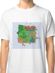 Hyrule Map Light Legend of Zelda ALttP Classic T-Shirt
