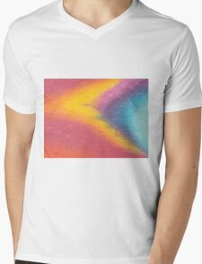 Fire In The Sky Mens V-Neck T-Shirt