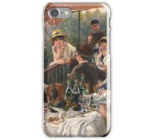 Luncheon of the Boating Party iPhone Case/Skin