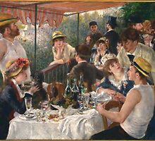 Luncheon of the Boating Party by Adam Asar