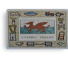 Cymru, Wales Canvas Print