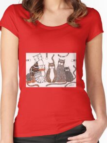 Purrfection Women's Fitted Scoop T-Shirt