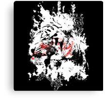 A splash of tiger Canvas Print