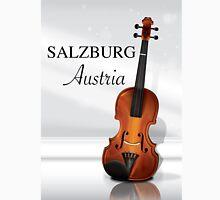 Vienna Austria Violin travel poster Classic T-Shirt