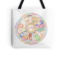 Grateful Mandala Tote Bag