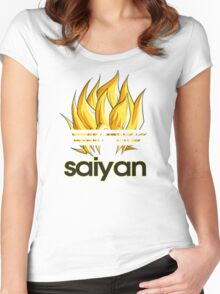 SUPER SAIYAN Women's Fitted Scoop T-Shirt