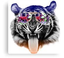 cool tiger Canvas Print