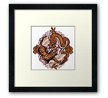 dragon tiger Framed Print