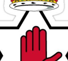 Northern Ireland Red Hand Of Ulster Sticker