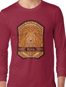 Lion Blazon Long Sleeve T-Shirt