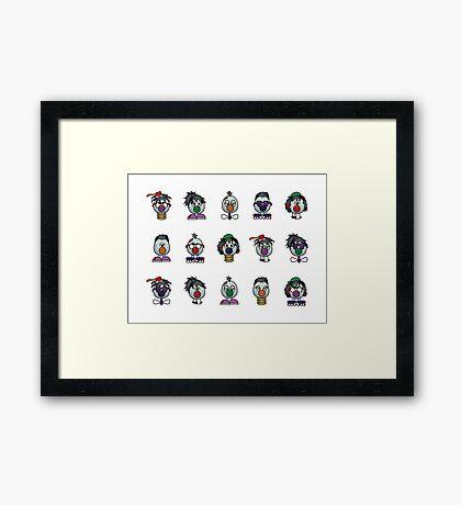 ZOMBINIS Framed Print