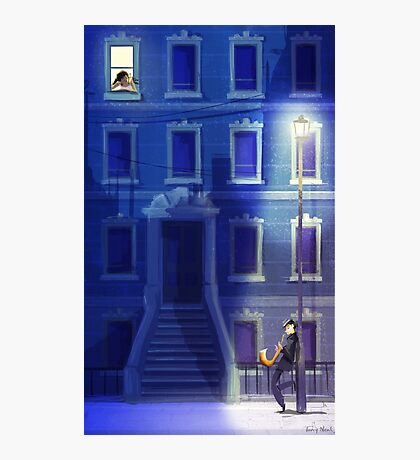 Blue Serenade Photographic Print