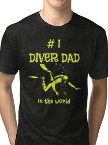 DIVING DAD Tri-blend T-Shirt