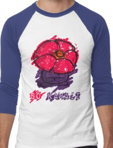 Adorable Messy Vileplume Men's Baseball ¾ T-Shirt