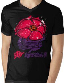 Adorable Messy Vileplume Mens V-Neck T-Shirt