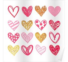 Lovely Hearts Poster