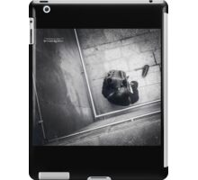 Misery of a vagabond musician (Mobile phone capture) iPad Case/Skin