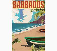Barbados vintage travel poster Classic T-Shirt