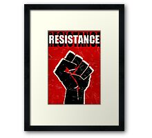Resistance - ONE:Print Framed Print