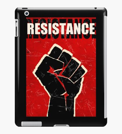 Resistance - ONE:Print iPad Case/Skin