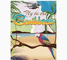 Caribbean Island Vintage retro travel poster  Classic T-Shirt