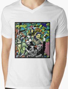 BUN IN THE OVEN Mens V-Neck T-Shirt