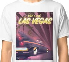 Las Vegas Classic car travel poster Classic T-Shirt