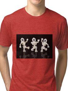 Dancing Skeletons Tri-blend T-Shirt