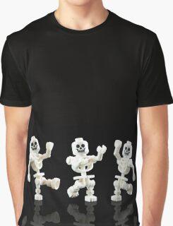 Dancing Skeletons Graphic T-Shirt