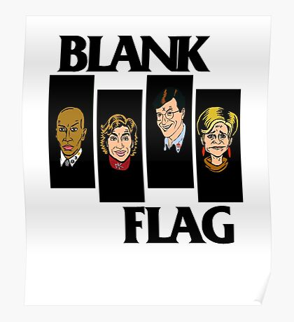 BLANK FLAG  ( Strangers With Candy ) Poster