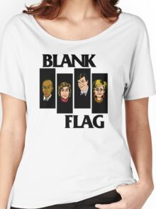 BLANK FLAG  ( Strangers With Candy ) Women's Relaxed Fit T-Shirt