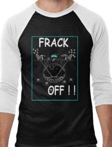 FRACK OFF Reversed Men's Baseball ¾ T-Shirt