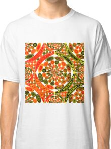 Colorful geometric abstract Classic T-Shirt
