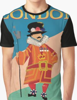 See England Tower of london beefeater. Graphic T-Shirt